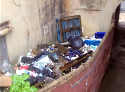 Rubbish removal Sheffield before