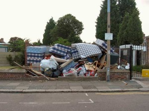 fly tipping rubbish removal sheffield