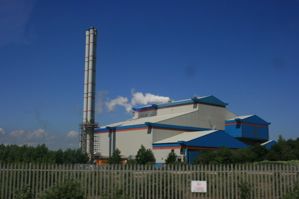 waste disposal plant